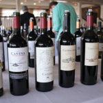Argentina's Catena Wines included 2015 Chardonnay, 2014 Cabernet Sauvignon, 2014 La Consulta Malbec, 2013 Alta Cabernet Sauvignon, Nicolas Catena Zapata 2010 and Adrianna Chardonnay White Stones 2012.