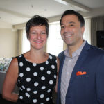 Susan McQuade, Brand Manager, Winebow and Carl Vitale, Divisional Manager South, Winebow.