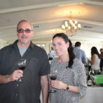 Frank Perillo, Owner, Lordship Wine & Liquor and Chrissy Laboy, Lordship Wine & Liquor.