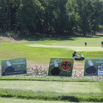 Sponsors of the second hole.