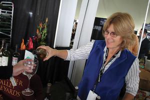 Pennie Haase, National Marketing Director and Northeast Regional Sales Manager, Alexander Valley Vineyards.