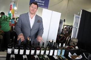 Dylan York, Brand Manager, Blackbird Vineyards.