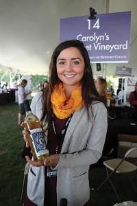 Sarah Petrarea, Brand Ambassador, Carolyn's Sakonnet Vineyards.