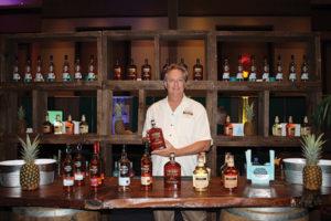 Third-generation Master Distiller Gary Nelthropp, Cruzan Rum.