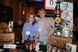 Abbi Miller and Ed Goll, The Real McCoy Rum.