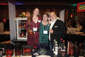 Caroline Abbott, Boston Market Manager, Inspired Beverage; Maeghan Kleinerman, Account Development Specialist, Inspired Beverage; Alexei Beratis, President, Inspired Beverage.