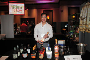 Mickey Amphonedara, Sales, MS Walker with the Diplomatico Rum line.