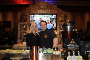 Amanda Pekar, Patron Portfolio Manager, Connecticut Distributors Inc., and Josh Pekar, USBG CT member representing Patron Spirits.