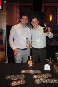 Mike Devaney and Corey Bailey, Sales, Horizon Beverage Company with Casa Noble Tequila.