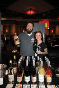 Joe Landolfi, Brand Manager, Market St. Spirits and Jen Murphy, Promotions, Shipwreck Rum.