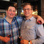 David Lancaster and Peter Slywka, Connecticut Sales Representatives, Michael Skurnik Wines.