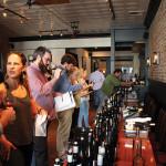 Guests at the fall Michael Skurnik Wines trade tasting at Walrus + Carpenter in Bridgeport.