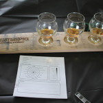 Whistlepig Rye Whiskey tasting display