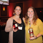 Jen Davis with Kate Palmer, Sales Director, Origin Beverage Co.