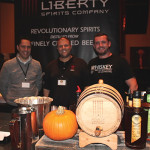 Tony Colavecchio, Guest; Mike Reppucci, President and Founder, Sons of Liberty Spirits; and Ian Single, Brand Ambassador, Sons of Liberty Spirits.