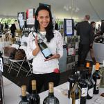 Priscela Evans, Marketing, Opici Wines with Destello Cava.