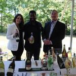 Megan Van Der Stad, Brand Ambassador, Sileni Estates; Filippo Polegato, Sales Manager, Astoria Wines; Chuck Andreae of Prestige Wine Estates.