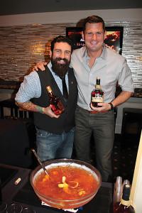 "Dimitrios Zahardias, USBG Chapter President with George ""Hutch"" Hutchinson, Regional Manager, Pernod Ricard."