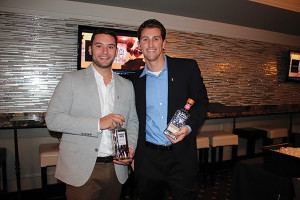 Anthony Mannuccia and Dylan McCullough, Retail Account Specialists, On-Premise CT, Pernod Ricard.