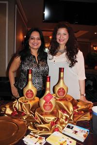 Monica Badlani, Chief Operating Officer and Nilofar Hashmy, Representative, both of Somrus Indian Cream Liqueur.