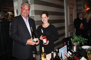 Jeff Brooks, Northeast Regional Manager, with Laura Paul, Northeast Key Account Manager, both of King Estate.
