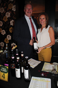 Bruce Baker, Sales Consultant Strategic Business, The Charmer Sunbelt Group with Denise Fumega, Sales and Marketing Consultant, Italian Wine Selections.
