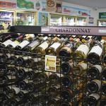 Inside Exeter Wine & Spirits.
