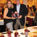 Charlene Leinonen, Central Western Massachusetts Coordinator, Ramsay Associates with Mike Stacy, Regional Sales Manager Northeast, Clyde May's Whiskey.