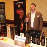 George Kalliavas of Moët Hennessy USA, with Ardbeg whiskey.