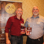 Carl S. Brown, CEO, Kra-Ze, LLC Bower Hill Whiskey and Kevin P. Clang, President, Kra-Ze, LLC Bower Hill Whiskey.
