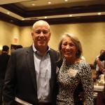 Joe Morenzi, General Manager, Rhode Island Distributing with Rita Martin, Marketing Manager, Rhode Island Distributing.