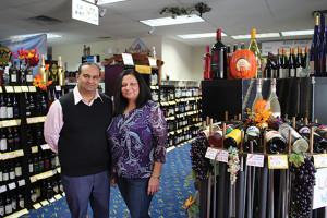 Owners Pankaj and Ruby Patel.
