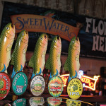 SweetWater on draft during the launch. Portfolio includes: Hop Hash, Extra Pale Ale, Hash Brown India Brown Ale, Take Two Pilsner and an India Pale Ale.