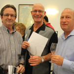 All of Super Cellar Warehouse Liquors in Avon: Bill Conroy, Tony Rousseau and Scott Taylor.