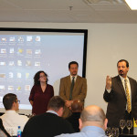 Amanda Doll, Michael Copeland and Tony Persechino are Certified WSET Instructors and part of CDI's staff. They taught the course for their fellow employees.