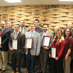 The following CDI staff were recently recognized and awarded certificates for passing the WSET training. Back row: Michael Copeland, Certified WSET Instructor; Robert Atwood; Andrew Osolin; Scott Horwitz; Corrissa Wilson; Kevin Mahon; Tony Persechino, Certified WSET Instructor. Front Row: Dominic Marandino; Pete Masi; Jonathan Figliola; Paul Puhalla; Luis Suarez; Carrie Finley; Amanda Doll, Certified WSET Instructor. Not pictured, but also WSET Certified: Elizabeth Galins, Curtis Kusari and Stephanie Lamison.