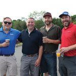 Oliver MacKinnon, Director, Highland Imports; Jamie Clemente, Sales Manager, Highland Imports; Jeff Cahill, 99 Bottles; Sjur Soleng, Owner, 99 Bottles.