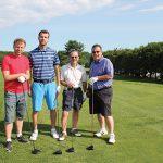 Foley Family Wines team: John Cecu, Jasmin Kajic, Denis Casey with Steve Casey of Brescome Barton.