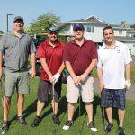 Mast-Jagermeister's Mike Campareli, Jeremy Wells, Greg Lamontagne and Nick Scasino.