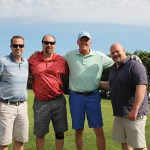 All of Connecticut Distributors, Inc. (CDI): Ryan Toole, Field Manager; Steve Slota, Off-Premise Manager; John Parke, President; and Steve Porrello, Field Manager.