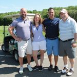 All from Eder Bros.: Ed Weissauer, Jennifer Caulfield, Ralph Anastasio and John Cummings.