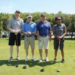 Brian Schreier, Allan S. Goodman; Dave Heller, Allan S. Goodman; Tom Kachmark, Brown-Forman; Kim Hill, Brown-Forman.