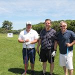 Pete Mcaloon; Kevin Hickey, Bacardi; Chris Cambareri, Willowbrook Spirit Shoppe and CPSA Board Member.