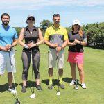 All of Brescome Barton: Giancarlo Cowan, Sarah Alokones, Tom LaDore and Rachel Torre.
