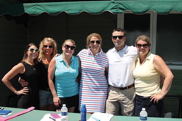 Brianna Grant, CRA Volunteer; Michelle LaBlanc, CRA Volunteer; Ashley Hebert, ServSafe & Membership Director, CRA; Sarah Maloney, Executive Director, CRA; C.J. Kowaleski, CRA; Jennifer Conkling-Schmitz, ProStart Coordinator, Connecticut Hospitality Educational Foundation, CRA.