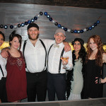 Elm City Social staff dressed for Repeal Day celebrations. Carolyn Flaherty; Catherine McAuliffe; Daniel Rek, Bar Manager; Ryan Howard, Managing Partner; Erin Scionti; Abbey Amendola.