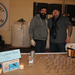 Dimitrios Zahariadis and Roger Gross of Highland Brass Co. and their Bloody Mary.