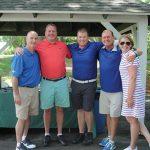 Steve Hayes, Rogo Distributors; Bill Malitsky, CT Brewers Association lobbyist; Ryan McDonald, Rogo Distributors; Steve Ogren, Rogo Distributors; Sarah Maloney, Executive Director, CRA.