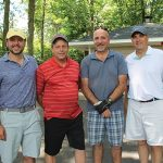 All from Sysco: Justin Tesone, Al D'Angelantonio, Andy Rolleri, Marty Strodel.