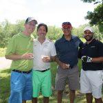 Jim O'Sullivan, DataPay; David Rossi, Co-Founder, Waypoint Spirits; Cory Shane, DataPay; and Jason Hirth, DataPay.